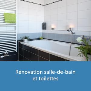 Renovation Interieure Salle De Bain Et Toilettes